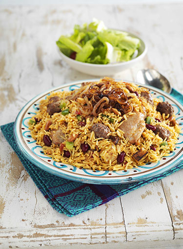 Chicken Kabsa With Sausage Beans Recipe Nestle Family Me