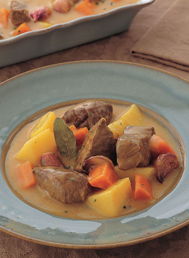 Blanquette of Lamb