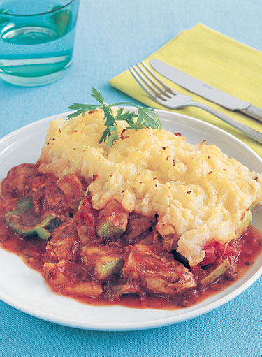 Chicken Gratin Ratatouille