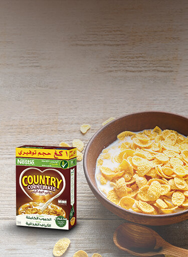 COUNTRY CORN FLAKES® Breakfast Cereal 500g