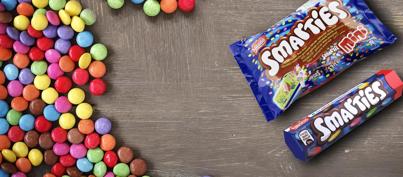 NESTLÉ® SMARTIES® Mini Bag Chocolate | Nestle Family