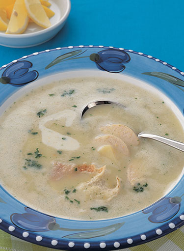 Cream of Chicken and Oats Soup