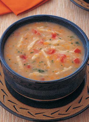 Cream of Chicken and Carrot Soup