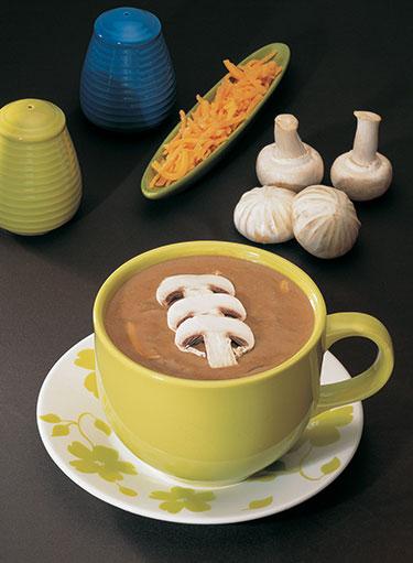 Cream of Mushroom and Onion Soup