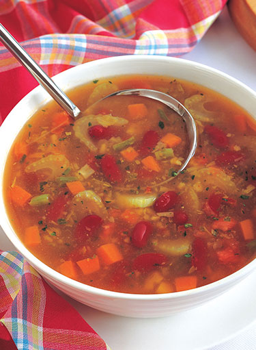 Tuscan Beans and Vegetables Soup