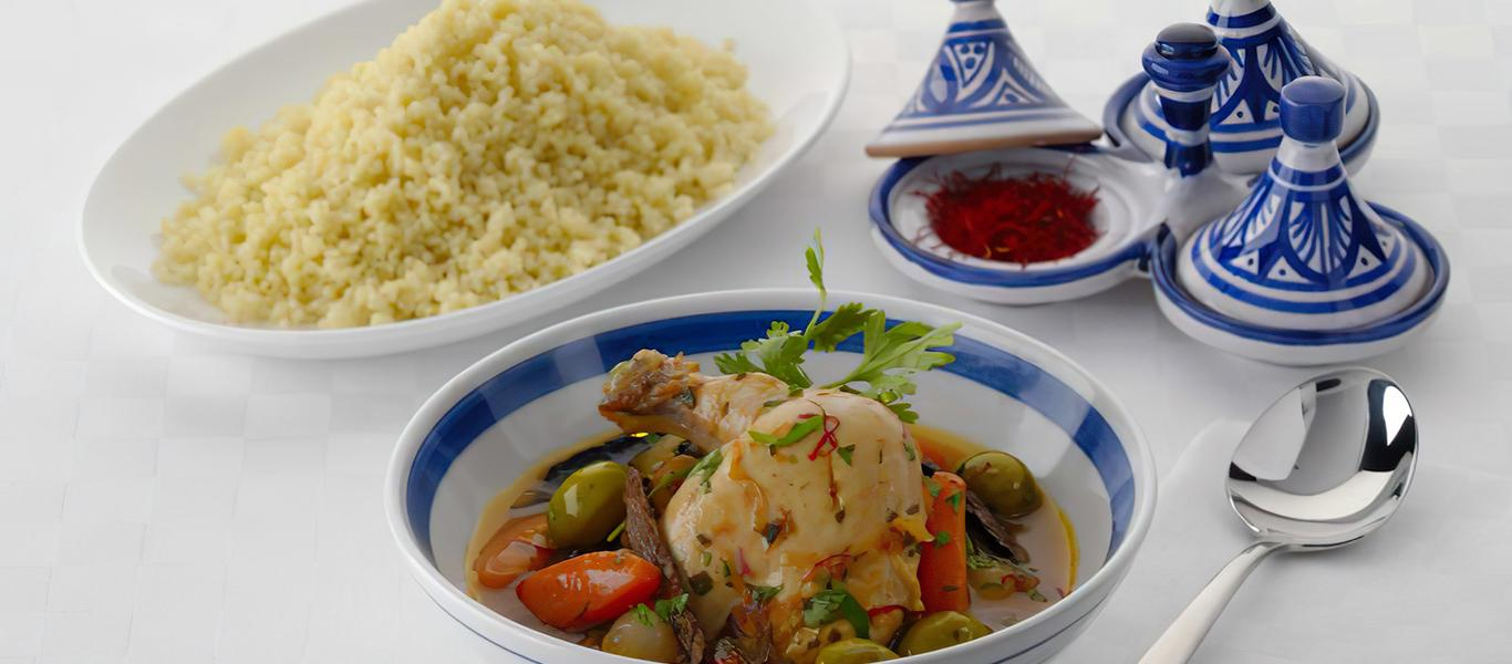 Chicken Tagine Moroccan Style