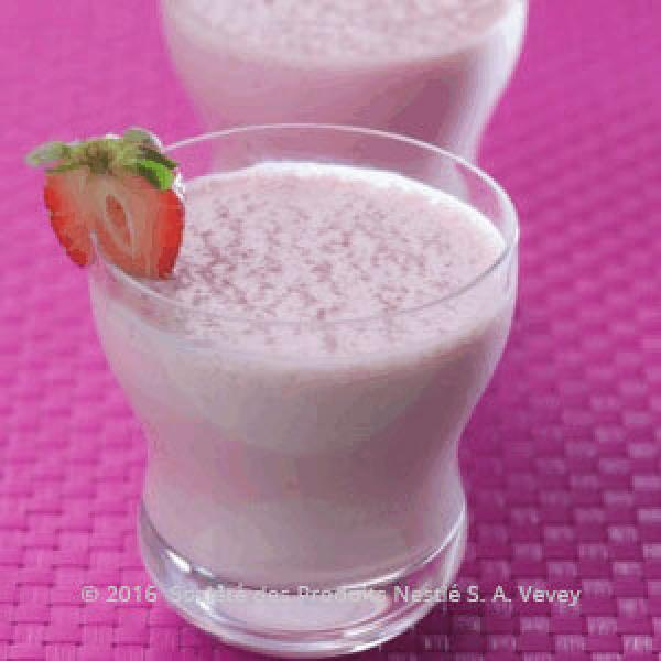 Strawberry and Anise Smoothie