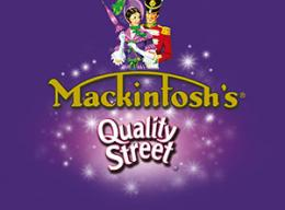 MACKINTOSH'S® QUALITY STREET® Chocolate Tin 375 g