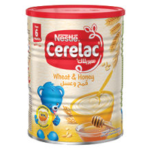 NESTLE CERELAC Infant Cereals with iRON+ WHEAT & HONEY 400g Tin