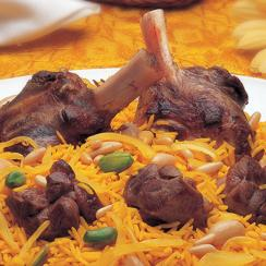 Saudi Rice with Lamb Rice Kabli