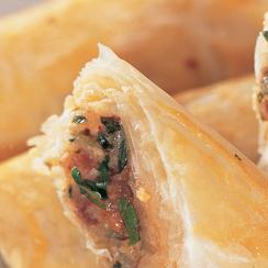 Filo Fingers with Lamb