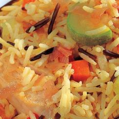 Chicken and Vegetables Rice