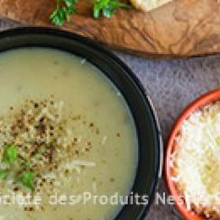 Grilled Chicken & Potato Soup