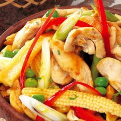 Ginger Chicken with Vegetables