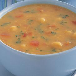 Chickpeas and Tomato Soup