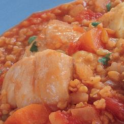 Frike with Fish Stew