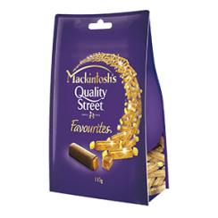 Mackintosh's® Quality Street® Favourites 20 pieces of Toffee Finger