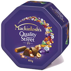 MACKINTOSH'S® QUALITY STREET® Chocolate Tin 850 g