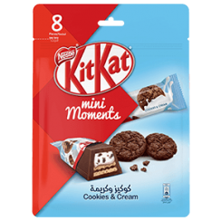 KITKAT® Mini Moments Cookies and Cream 140g
