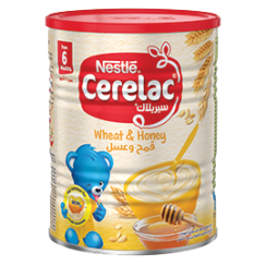 Nestlé® CERELAC Infant Cereals with iRON+ WHEAT & HONEY 400g Tin