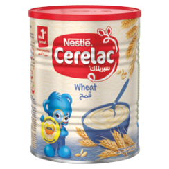 Nestlé® CERELAC Infant Cereals with iRON+ WHEAT 400g Tin