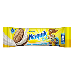 Nestlé® NESQUIK® Milk Cream Biscuit