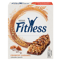 FITNESS BREAKFAST Caramel Cereal Bar