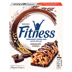 FITNESS BREAKFAST Chocolate Cereal Bar