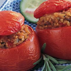 Stuffed Tomato with Frike