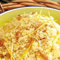 Buttered Lemon Couscous
