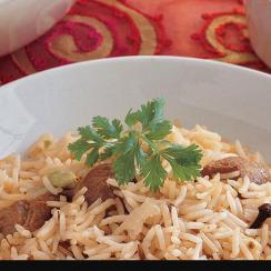 Caraway Rice with Lamb