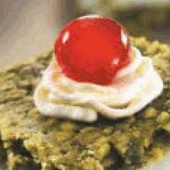 Pistachio Mafruka with Cream