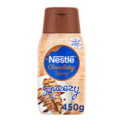 Nestle®  Chocolatey Topping Squeezy 450g