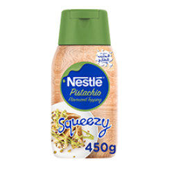Nestle® Pistachio Flavoured Topping Squeezy 450g