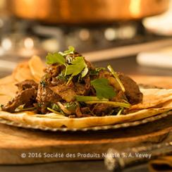 Spicy Lamb Liver and Green Onions
