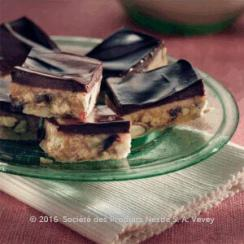 Biscuits and Chocolate Slices